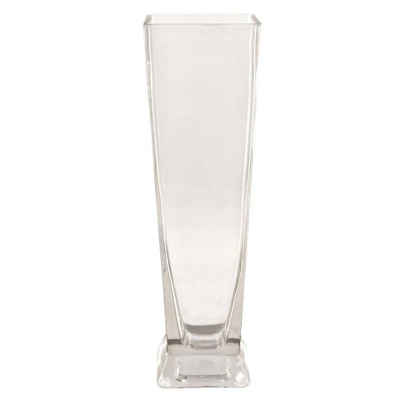 Vaso in vetro for Vaso rettangolare