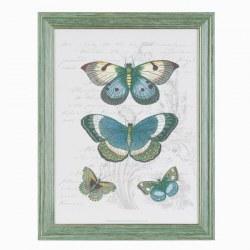 Quadro con farfalle