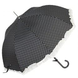 Ombrello Cuori nero