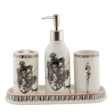 set da bagno sacro e profano - Set bagno- Casa Country Shop online