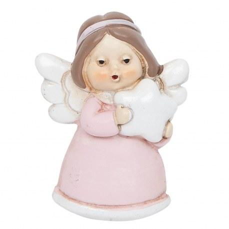 Magnete angelo rosa decorazioni casa country shop online for Decorazioni casa online