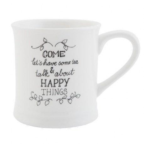 "Tazza mug ""Happy things"""