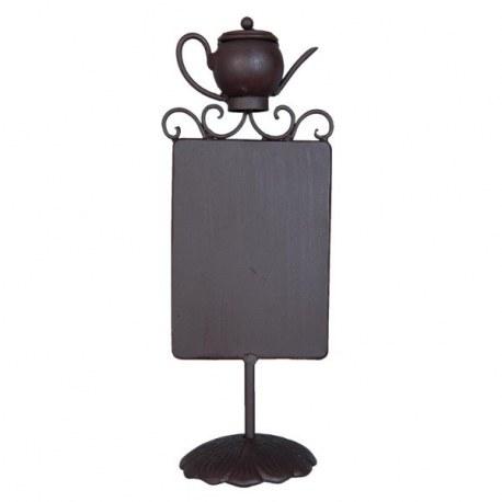 Lavagna teiera decorazioni casa country shop online for Decorazioni casa online