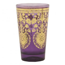 Bicchiere Orientale Purple