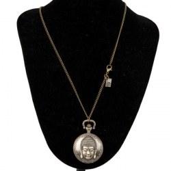 Collana con orologio Buddha