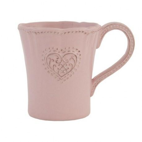 Tazza grande Cuore rosa
