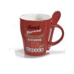 Tazza Coffe rossa