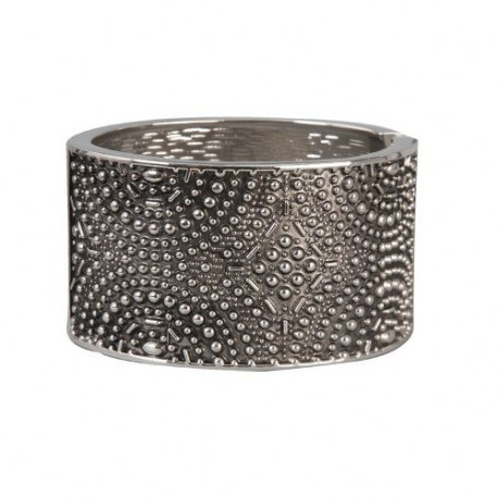 Braccialetto metallo argentato