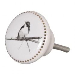 """Pomello """"Oiseau"""" con uccellino"""