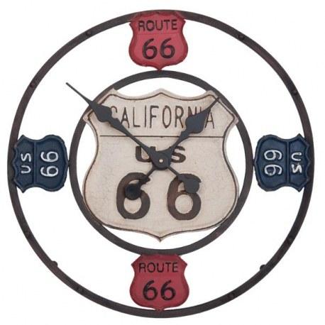 Orologio da parete vintage Route 66