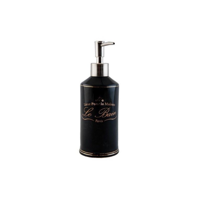 Portasapone liquido in vetro le bain luxe bagno casa country shop online - Accessori bagno le bain ...