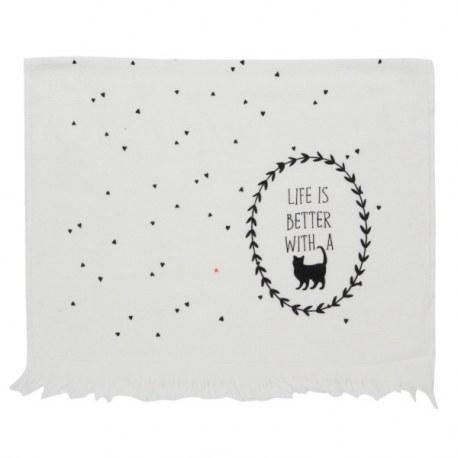 Asciugamano ospiti Gatto