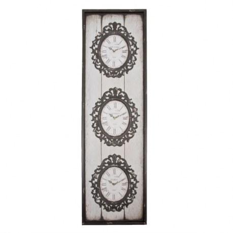 Orologio da parete in stile francese retr orologi casa - Orologi da parete stile country ...