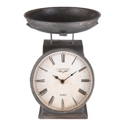 Orologio vintage a forma di bilancia