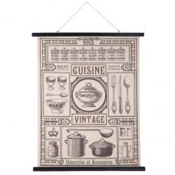Stampa in lino Vintage cuisine