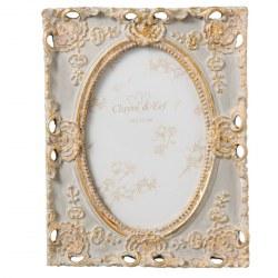 Portafoto chic con decorazioni oro