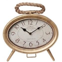 Orologio d'appoggio dorato