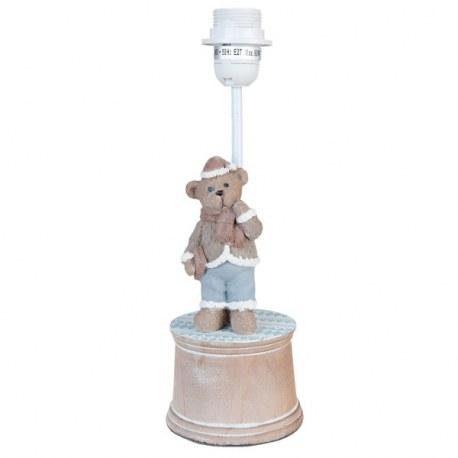 Base per lampada con orsetto
