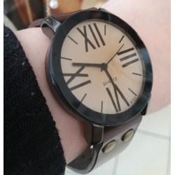 Orologio da polso unisex marrone