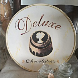 "Piatto shabby ""Deluxe Chocolatier"""