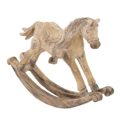 Cavallo a dondolo shabby