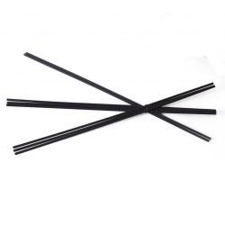 Bacchette in fibra nere Locherber per profumo