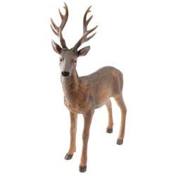 Cervo decorativo in colore marrone