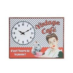 Orologio da parete Vintage Cafè