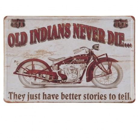 """Targa Harley Davidson """"Old Indians Never Die"""""""